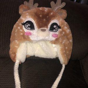 Winter Children's Deer hat